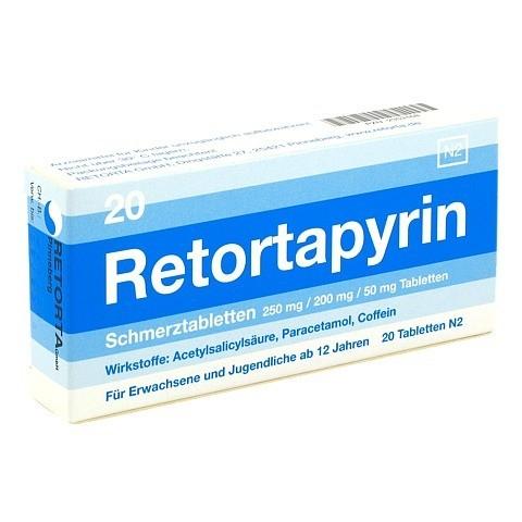 Retortapyrin Schmerztabletten 20 Stück N2
