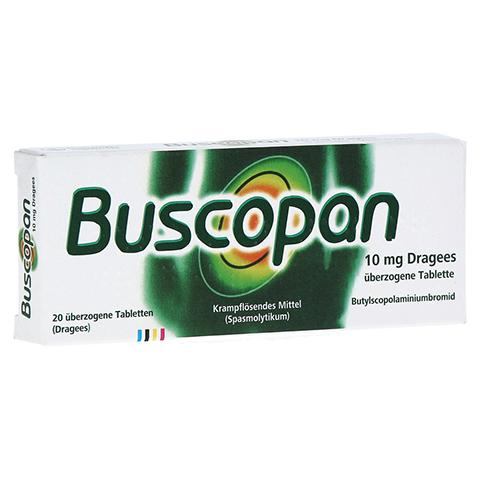 Buscopan 10mg Dragees 20 Stück N1