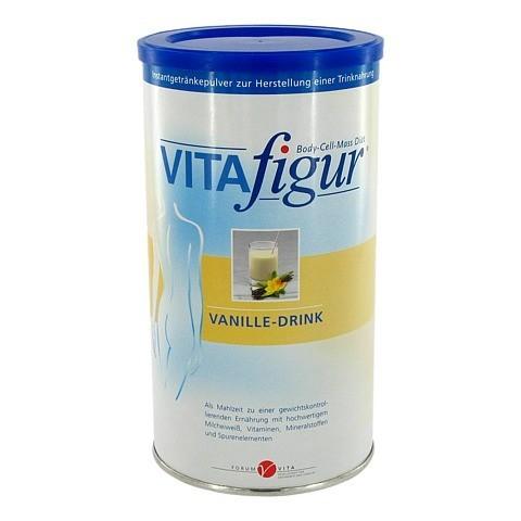 VITAFIGUR Vanille-Drink Pulver 475 Gramm