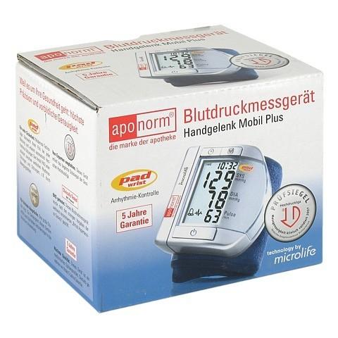 APONORM Blutdruck Messgerät Mobil Plus Handgel. 1 Stück