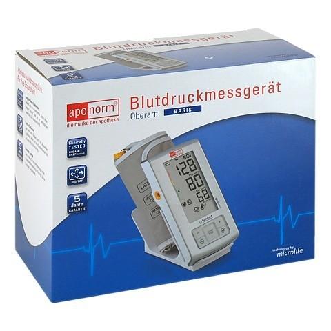APONORM Blutdruck Messgerät Basis Oberarm 1 Stück