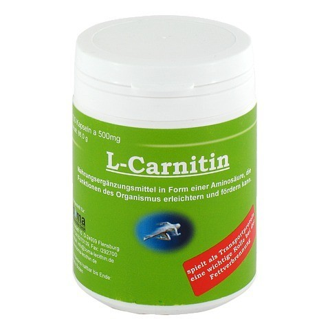 ACETYL-L-CARNITIN 500 mg Kapseln 100 Stück