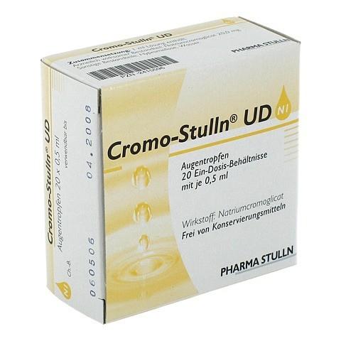Cromo-Stulln UD Augentropfen 20x0.5 Milliliter N2