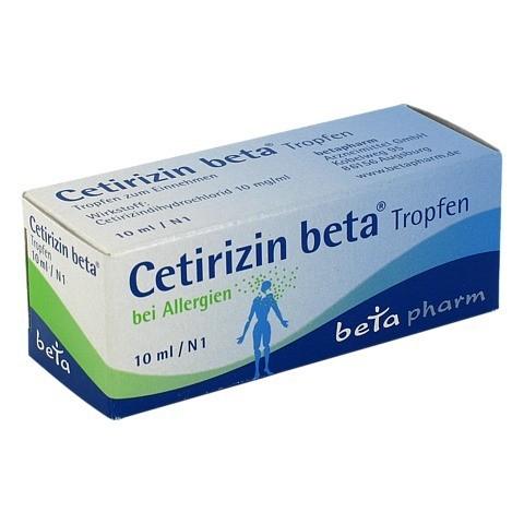 Cetirizin beta 10 Milliliter N1