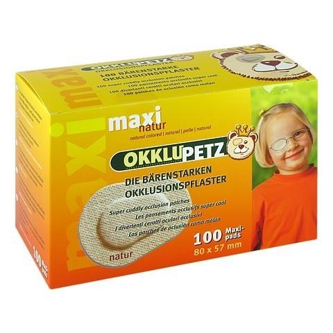OKKLUPETZ Okklusionspflaster maxi natur 100 Stück