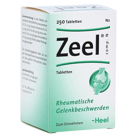 ZEEL comp.N Tabletten 250 Stück N2