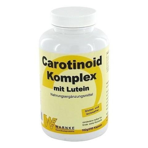CAROTINOID Komplex Kapseln 250 Stück