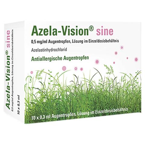 AZELA-Vision sine 0,5 mg/ml Augentr.i.Einzeldosis. 10x0.3 Milliliter N1