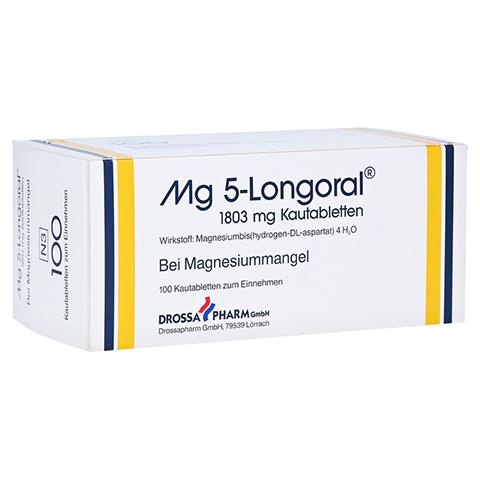 MG 5 LONGORAL Kautabletten 100 Stück N3