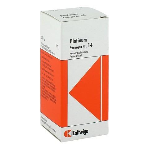 SYNERGON KOMPLEX 14 Platinum Tropfen 50 Milliliter