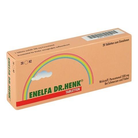 Enelfa Dr. Henk 500mg 20 Stück N2