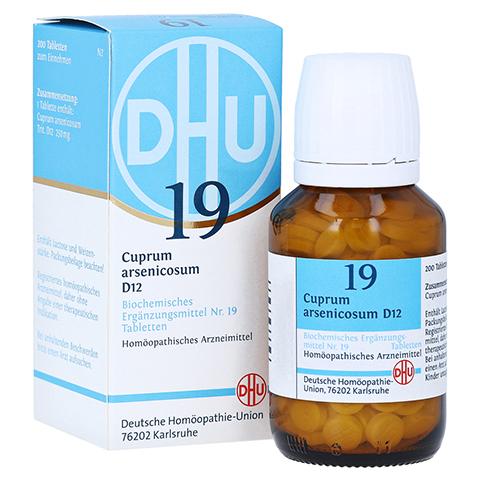 BIOCHEMIE DHU 19 Cuprum arsenicosum D 12 Tabletten 200 Stück N2