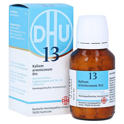 BIOCHEMIE DHU 13 Kalium arsenicosum D 12 Tabletten 200 Stück N2