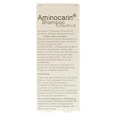AMINOCARIN Shampoo CoffeinPLUS 125 Milliliter - Rückseite