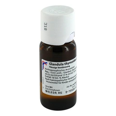 GLANDULA THYREOIDEA D 6 Dilution 50 Milliliter N1