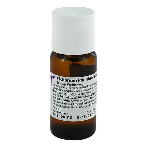 CICHORIUM PLUMBO cultum D 3 Dilution 50 Milliliter N1