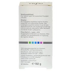 PRIMA VITAL A-Z+Lutein+Q10 Tabletten 60 Stück - Rückseite