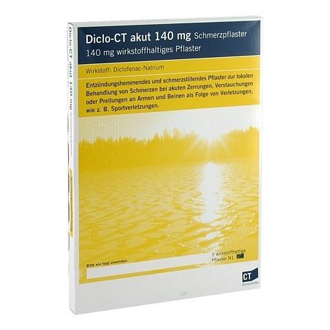 DICLO-CT akut 140 mg Schmerzpflaster 5 Stück N1
