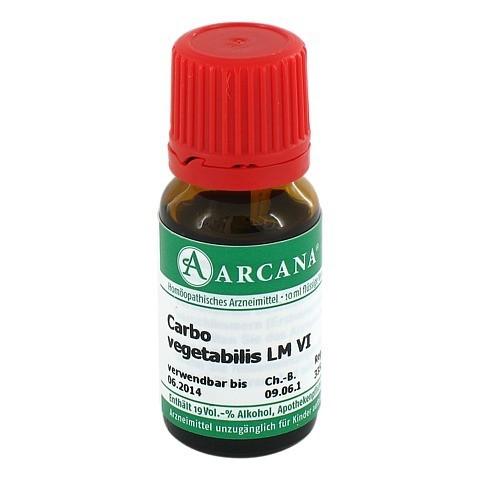 CARBO VEGETABILIS LM 06 Dilution 10 Milliliter N1
