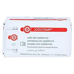 JODOTAMP 50 mg/g 2 cmx5 m Tamponaden 1 Stück - Rückseite