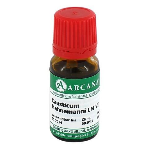 CAUSTICUM Hahnemanni LM 06 Dilution 10 Milliliter N1
