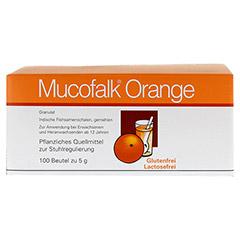 Mucofalk Orange Beutel 100 Stück - Rückseite