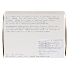 OPTIMAHL Zink 15 mg Tabletten 100 Stück - Rückseite