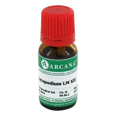 LYCOPODIUM Arcana LM 12 Dilution 10 Milliliter N1