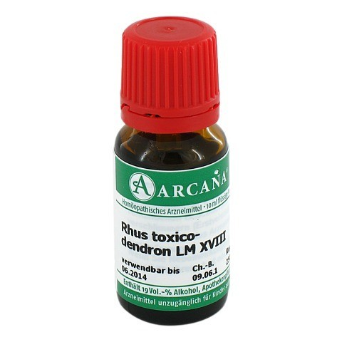 RHUS TOXICODENDRON Arcana LM 18 Dilution 10 Milliliter N1