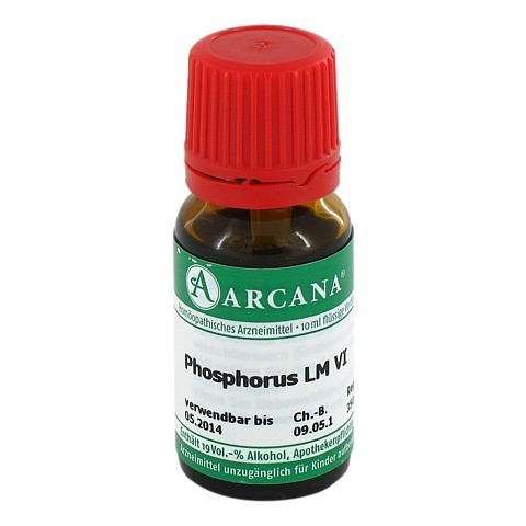 PHOSPHORUS Arcana LM 6 Dilution 10 Milliliter N1
