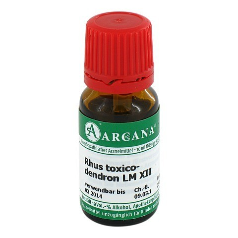 RHUS TOXICODENDRON LM 12 Dilution 10 Milliliter N1