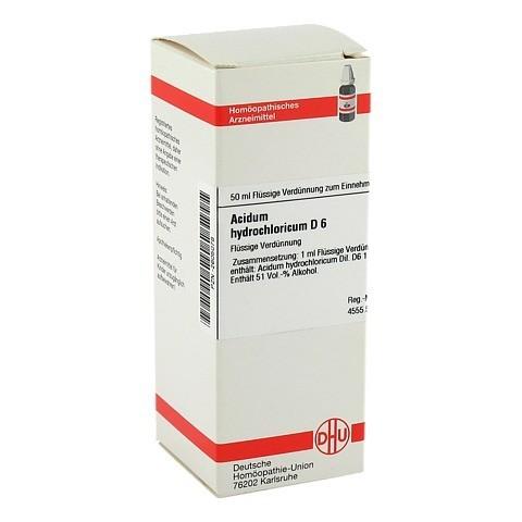 ACIDUM HYDROCHLORICUM D 6 Dilution 50 Milliliter N1