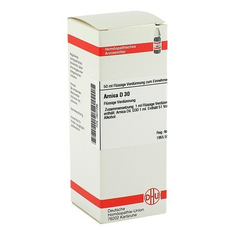 ARNICA D 30 Dilution 50 Milliliter