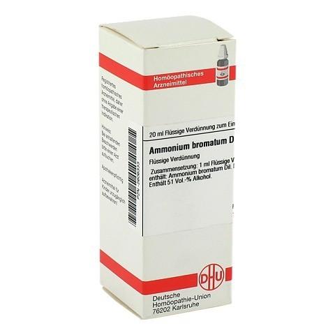 AMMONIUM BROMATUM D 4 Dilution 20 Milliliter N1