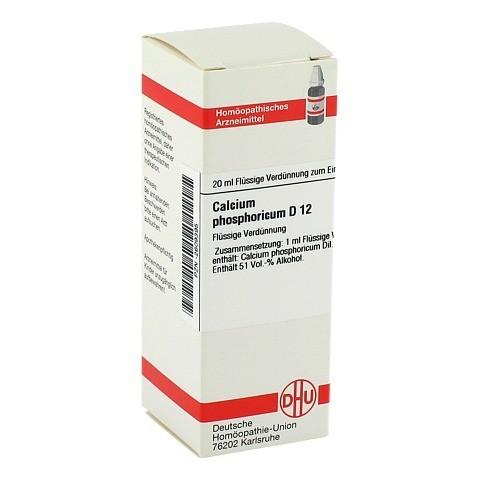 CALCIUM PHOSPHORICUM D 12 Dilution 20 Milliliter N1