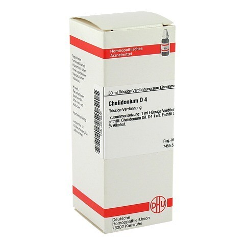 CHELIDONIUM D 4 Dilution 50 Milliliter N1