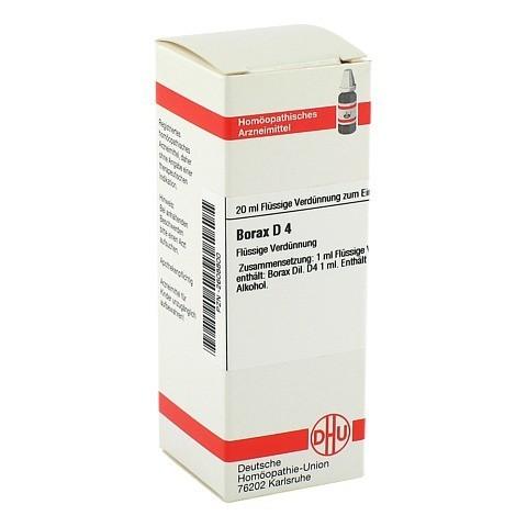 BORAX D 4 Dilution 20 Milliliter N1