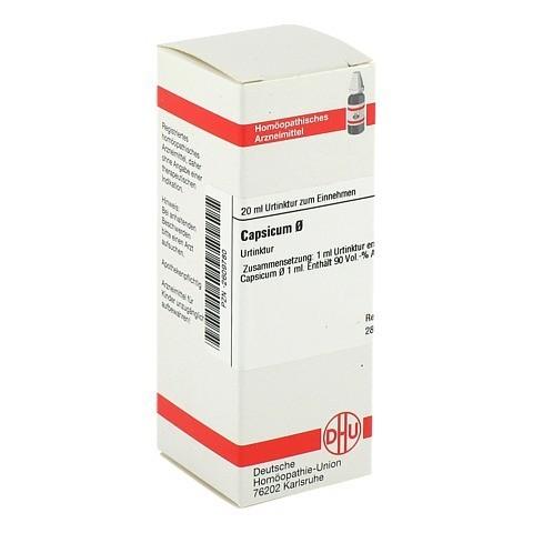 CAPSICUM Urtinktur D 1 20 Milliliter N1