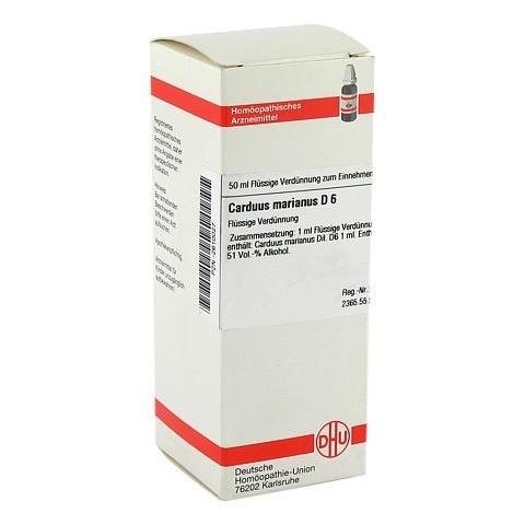 CARDUUS MARIANUS D 6 Dilution 50 Milliliter N1