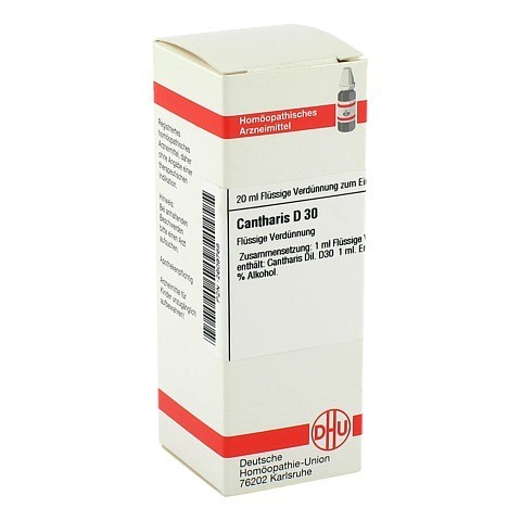 CANTHARIS D 30 Dilution 20 Milliliter N1