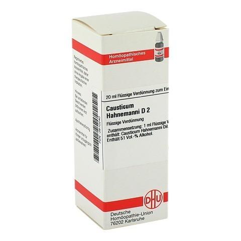 CAUSTICUM HAHNEMANNI D 2 Dilution 20 Milliliter N1
