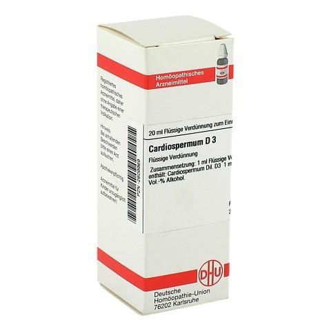 CARDIOSPERMUM D 3 Dilution 20 Milliliter N1