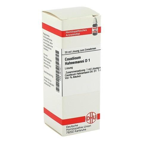 CAUSTICUM HAHNEMANNI Urtinktur D 1 20 Milliliter N1