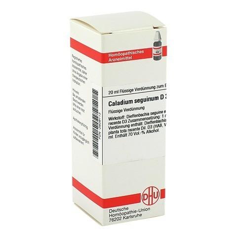 CALADIUM seguinum D 3 Dilution 20 Milliliter N1