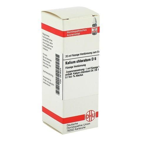 KALIUM CHLORATUM D 6 Dilution 20 Milliliter N1