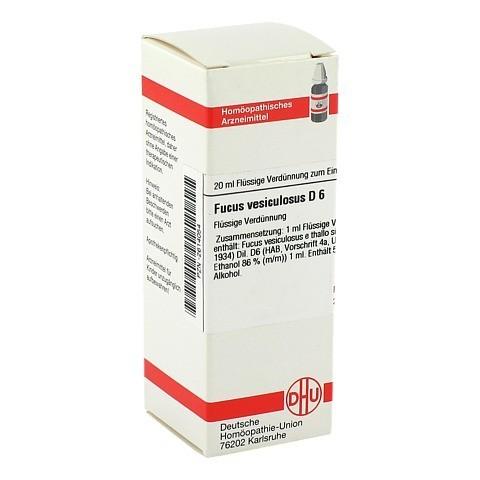 FUCUS VESICULOSUS D 6 Dilution 20 Milliliter N1