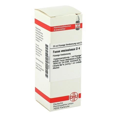 FUCUS VESICULOSUS D 4 Dilution 20 Milliliter N1