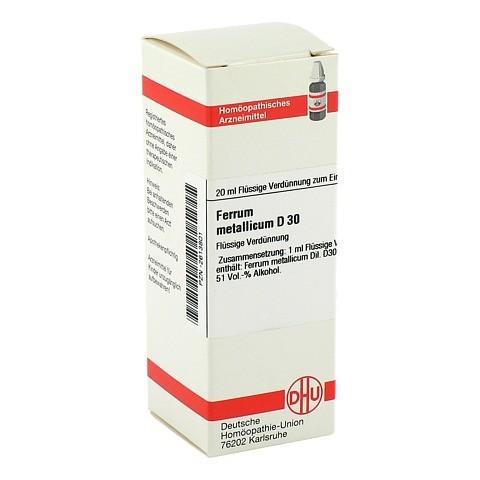 FERRUM METALLICUM D 30 Dilution 20 Milliliter N1