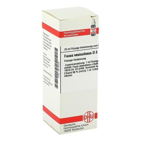 FUCUS VESICULOSUS D 3 Dilution 20 Milliliter N1