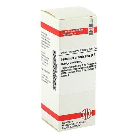 FRAXINUS AMERICANA D 3 Dilution 20 Milliliter N1